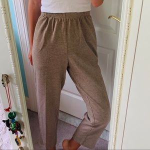 Cozy brown pants